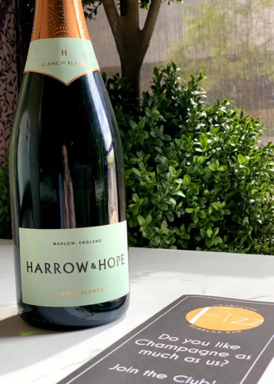 April Wine Club Selection | Harrow & Hope, Blanc de Blancs, 2014, Brut, Marlow, England Hope Harrow