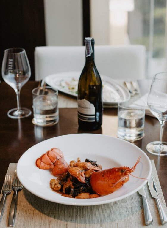 lobster to pair with champagne