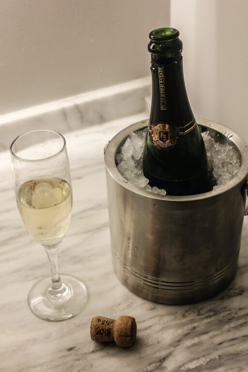 How to Open Champagne - Tips and Tricks chilling a champagne